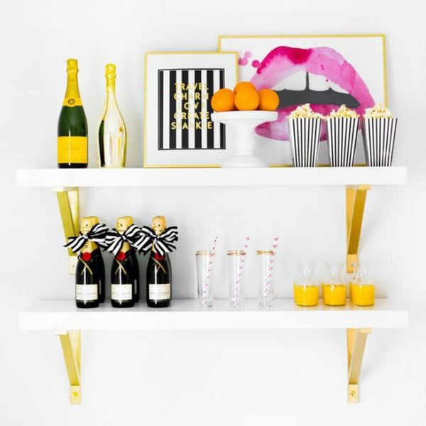 14 Small Space Tips for the Cocktail Maven Who Wants a Home Bar