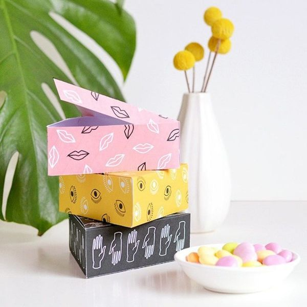 10 Printable Gift Boxes for When You're Out of Wrapping Paper