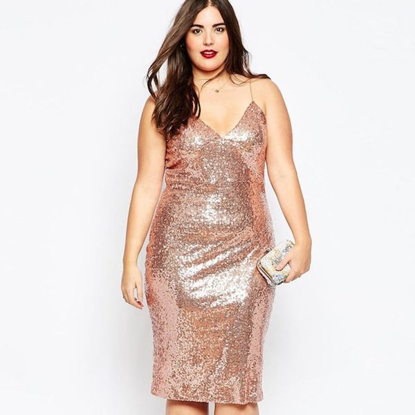 Wear These 24 Rose Gold-Colored Dresses + Accessories to Every Winter Wedding