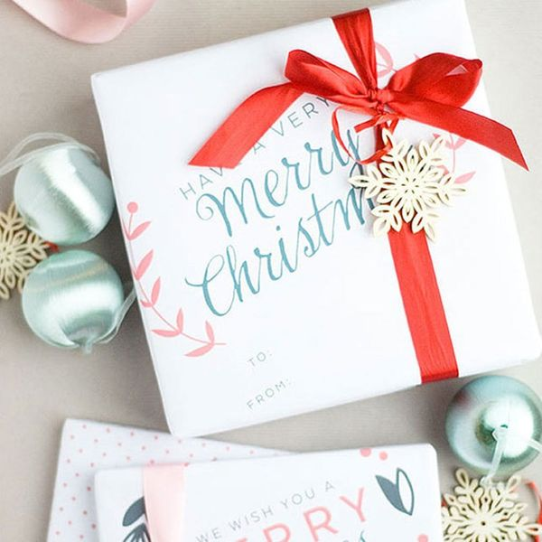 15 Free Printable Gift Wraps for When You're Running Low on Time