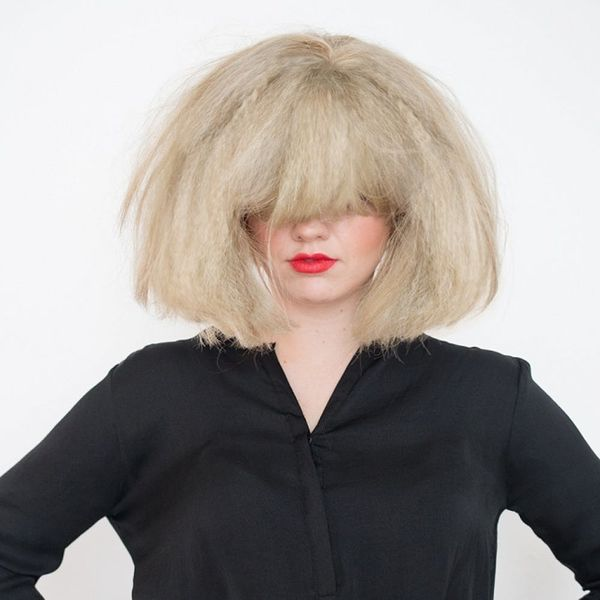 How to DIY Sia's Craziest Hairstyle for Halloween in Just 3 Steps
