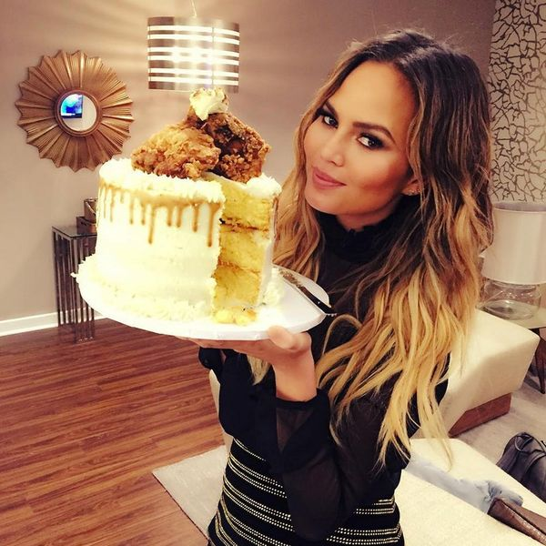 Chrissy Teigen's Savory Cake Will Be Your Guests' Favorite Thanksgiving Dish