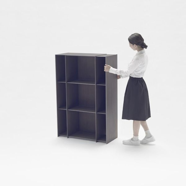 These Amazing Shelves Stretch like Taffy