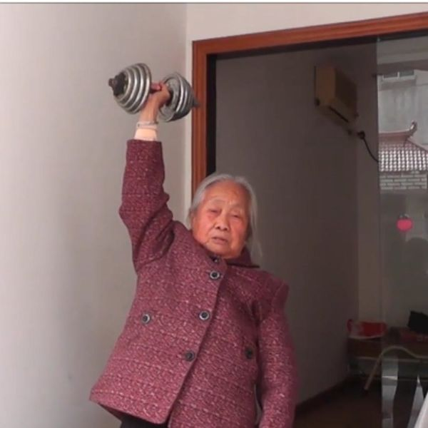 This 85-Year-Old's Workout Routine Will Put Yours to Shame