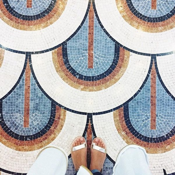 Cute Shoes + Beautiful Floors Are the New #Shelfie on Instagram