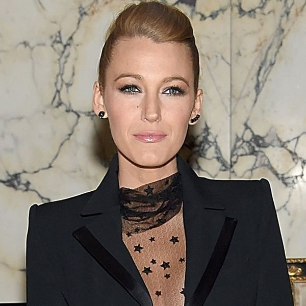 Blake Lively Shows Us the Prettiest Way to Wear Menswear Ever
