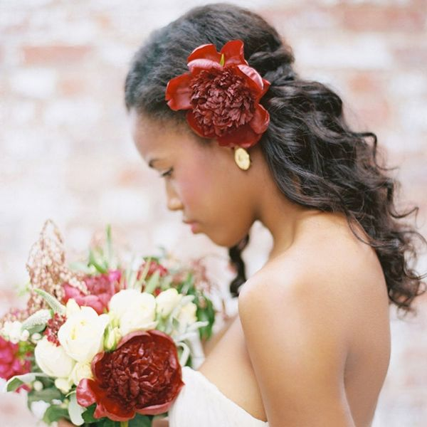 """Say """"I Do"""" to These 10 Fresh Spring Wedding Hairstyles"""