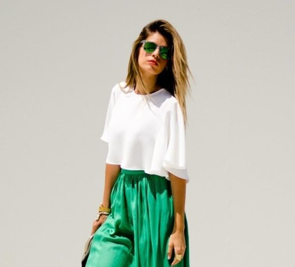 10 Ways to Rock a Crop Top Without Showing Skin — Seriously!