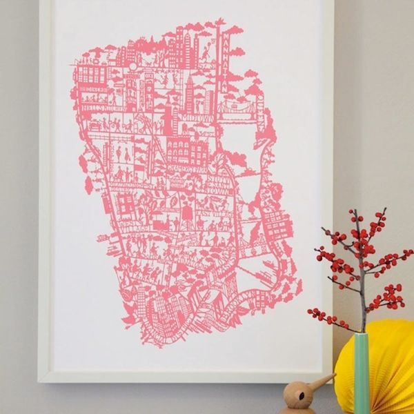 17 Pieces of Map Wall Art to Satisfy Your Wanderlust