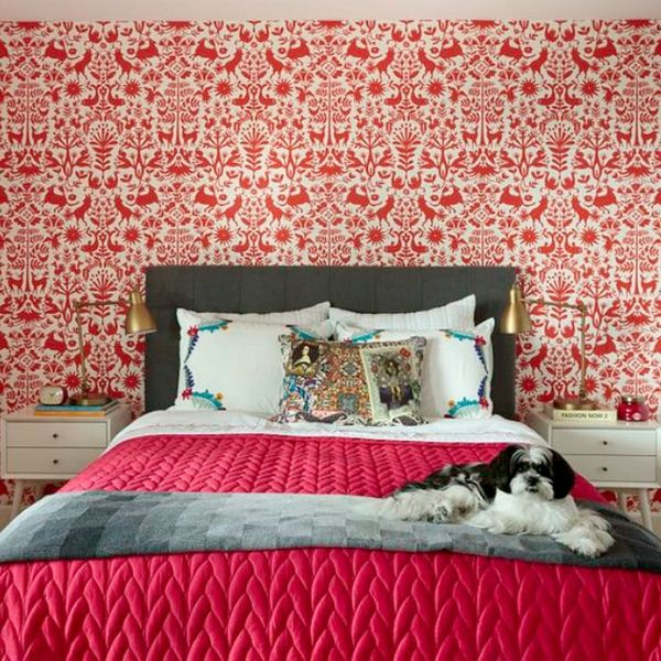 8 Red Wall Bedrooms That Will Make You Swoon