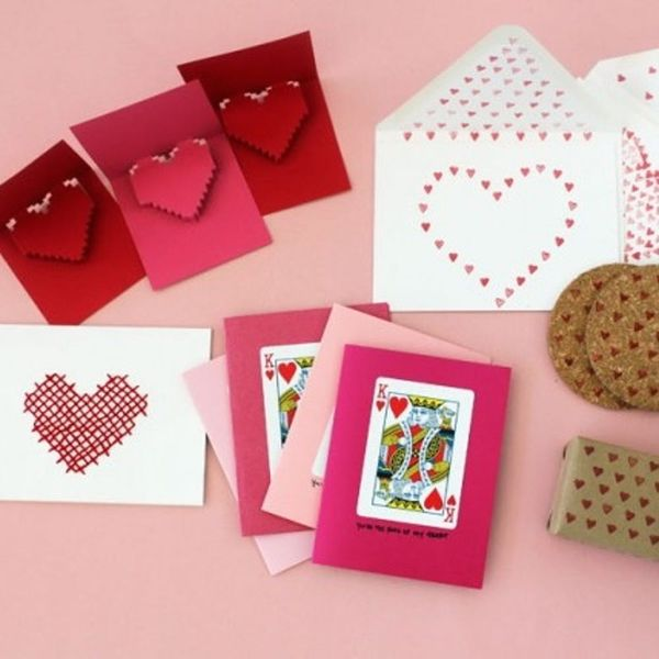 22 Sweet DIY Cards to Send Your Valentine