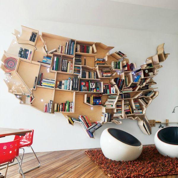 14 Amazing Bookshelves for Book Lovers