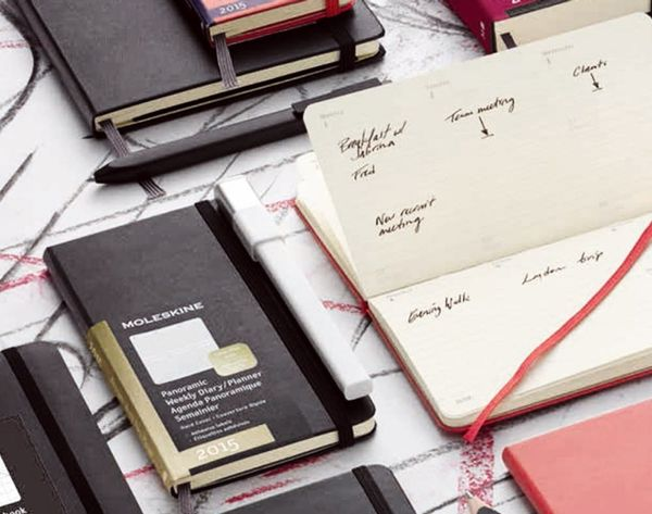 Moleskine Has 82 New Planners to Start Your New Year