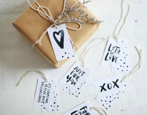 20 Printable Gift Tags to the Holiday Rescue