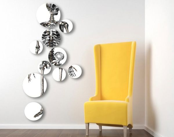 17 Cobweb-Free Ways to Decorate Your Walls This Halloween