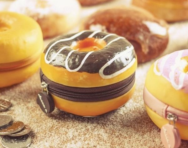 A Donut-Scented Coin Purse? Want!