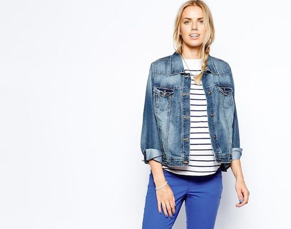 """Redefine """"Mom Jeans"""" With 14 Flattering Pairs of Maternity Denim"""