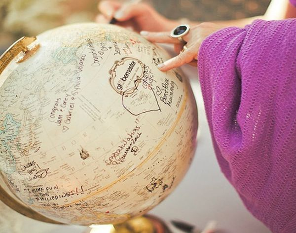 11 Fresh Ideas for Your Wedding Guest Book