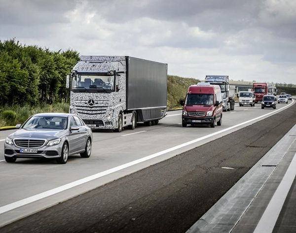 Self-Driving Trucks Could Be on the Road + Saving Lives By 2025