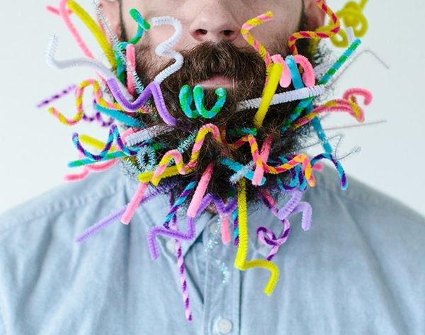 This Instagram Star Puts Random Objects In His Beard… And It's Awesome