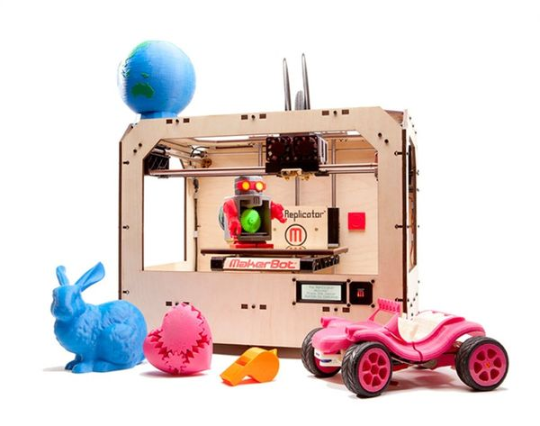 MakerBot Goes Mainstream With 3D Printers Now Sold at Home Depot