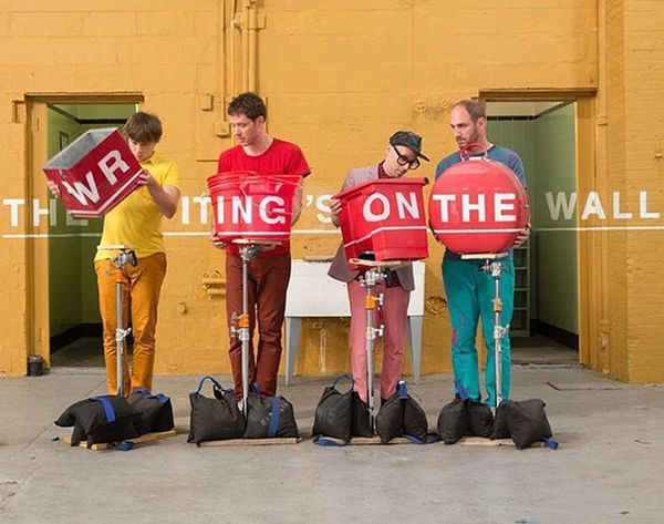 """Watch: How OK Go Made the Crazy Creative """"The Writing's on the Wall"""""""