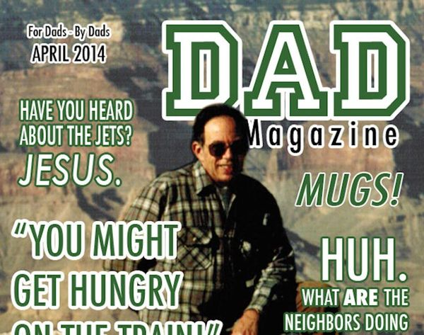 The Ultimate Absurd Father's Day Gift: Dad Magazine