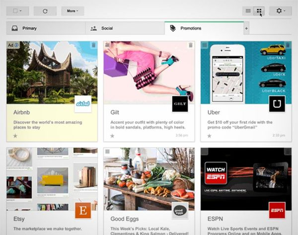 Why Your Gmail Might Look More Like Pinterest Tomorrow