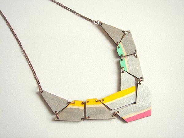 Awesomely Angular: 20 Geometric Jewelry Pieces