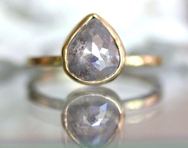 25 Unconventional + Affordable Engagement Rings