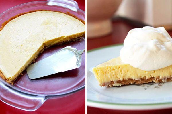 Meyer Lemon Cream Pie with Nilla Wafer Crust