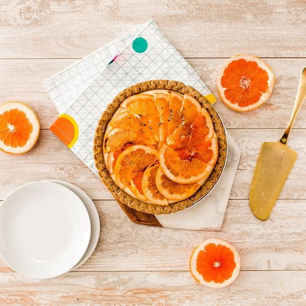 Make This Bruléed Grapefruit Tart Recipe for Your Next Summer Bash