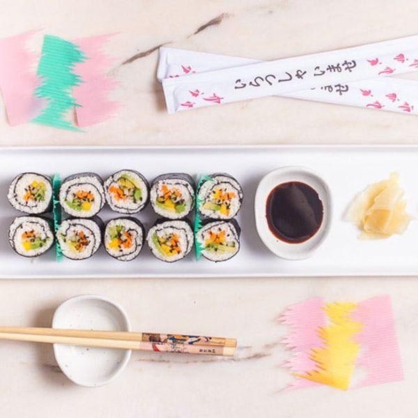 diy cauliflower rice sushi recipe