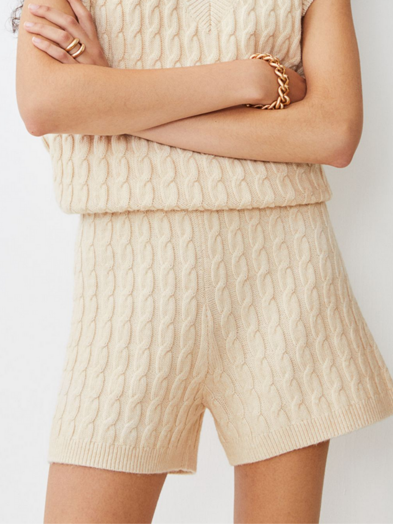 H&M Cable Knit fall Shorts